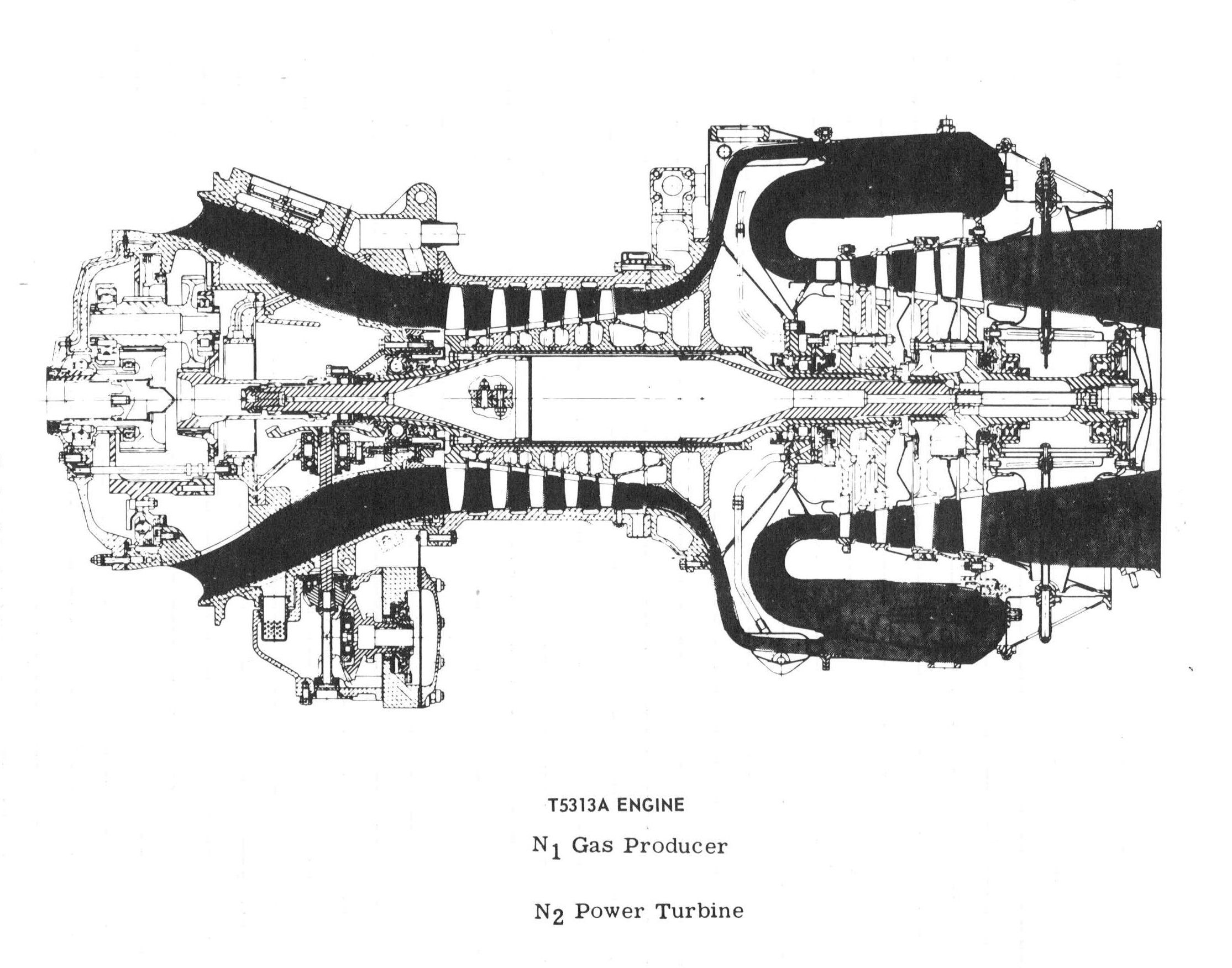 hight resolution of helicopter engine cutaway cutaway helicopters diagram engineering choppers