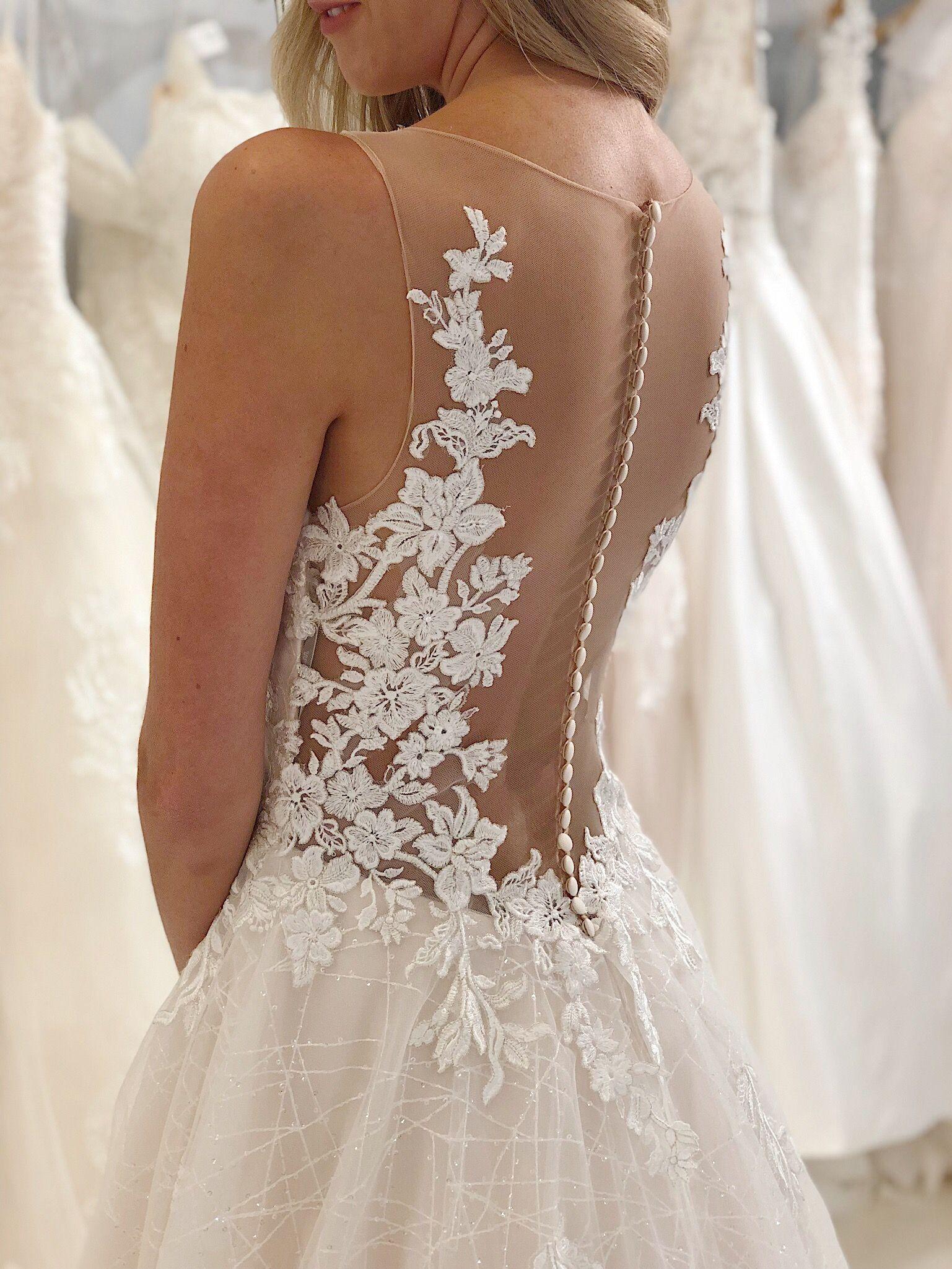 21+ Illusion neckline wedding dress info