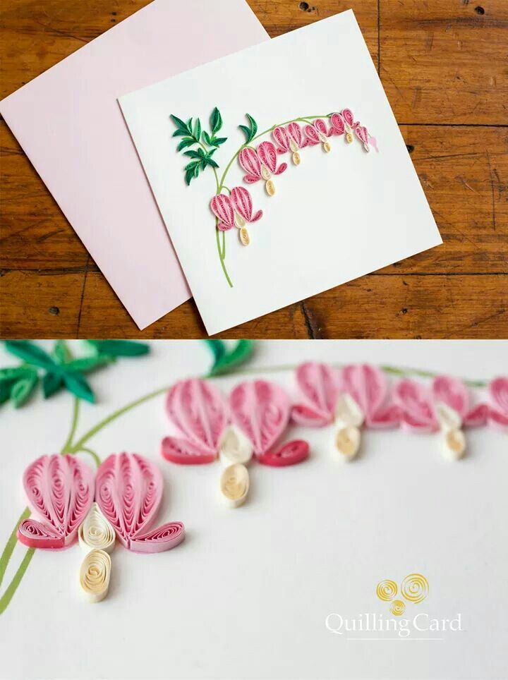 Bleeding Hearts Quilling Patterns Origami And Quilling Quilling Designs