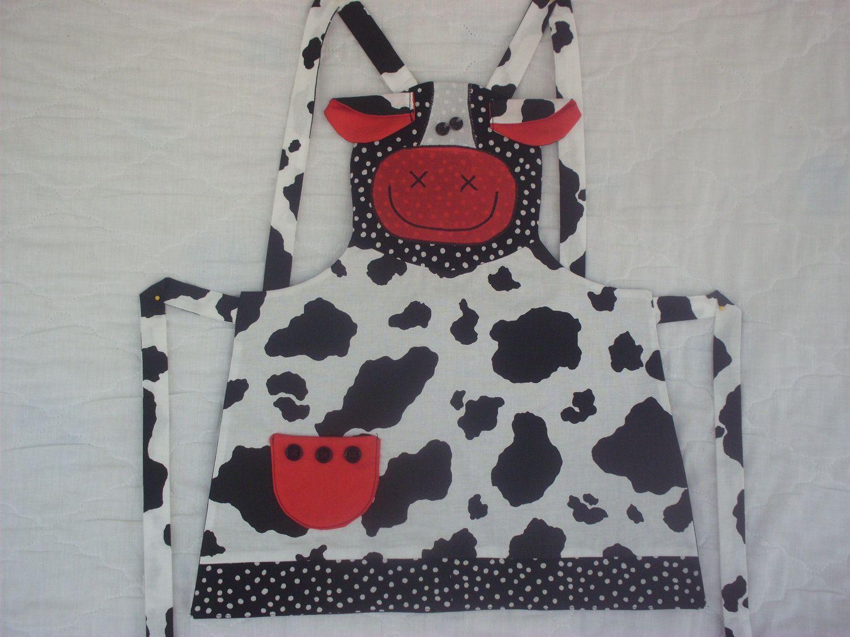 Ogilvies designs christmas aprons gloves amp tea towels - Cow Apron Cowapronstissuekitchen