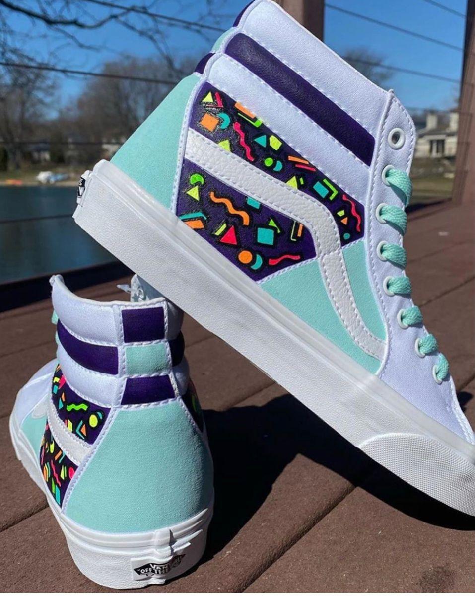 Custom vans shoes, Vans shoes fashion