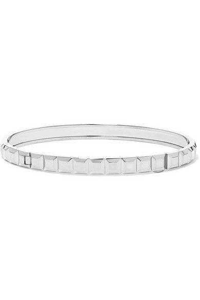Boucheron Quatre Clou De Paris 18-karat White Gold Bracelet 2iLSm23