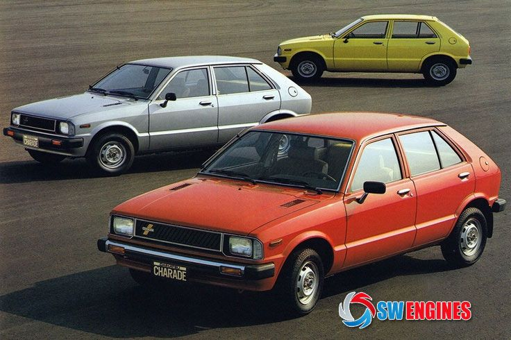 Swengines The Daihatsu Charade Is A Supermini Car Produced By The