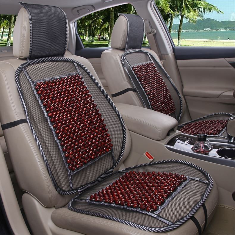 Free Shipping Bamboo Wood Beads Universal Car Seat Cover 1 Piece Front CoverChina