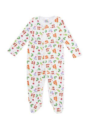 3001404787cd The Very Hungry Caterpillar Sleepsuit from Clothing at Tesco