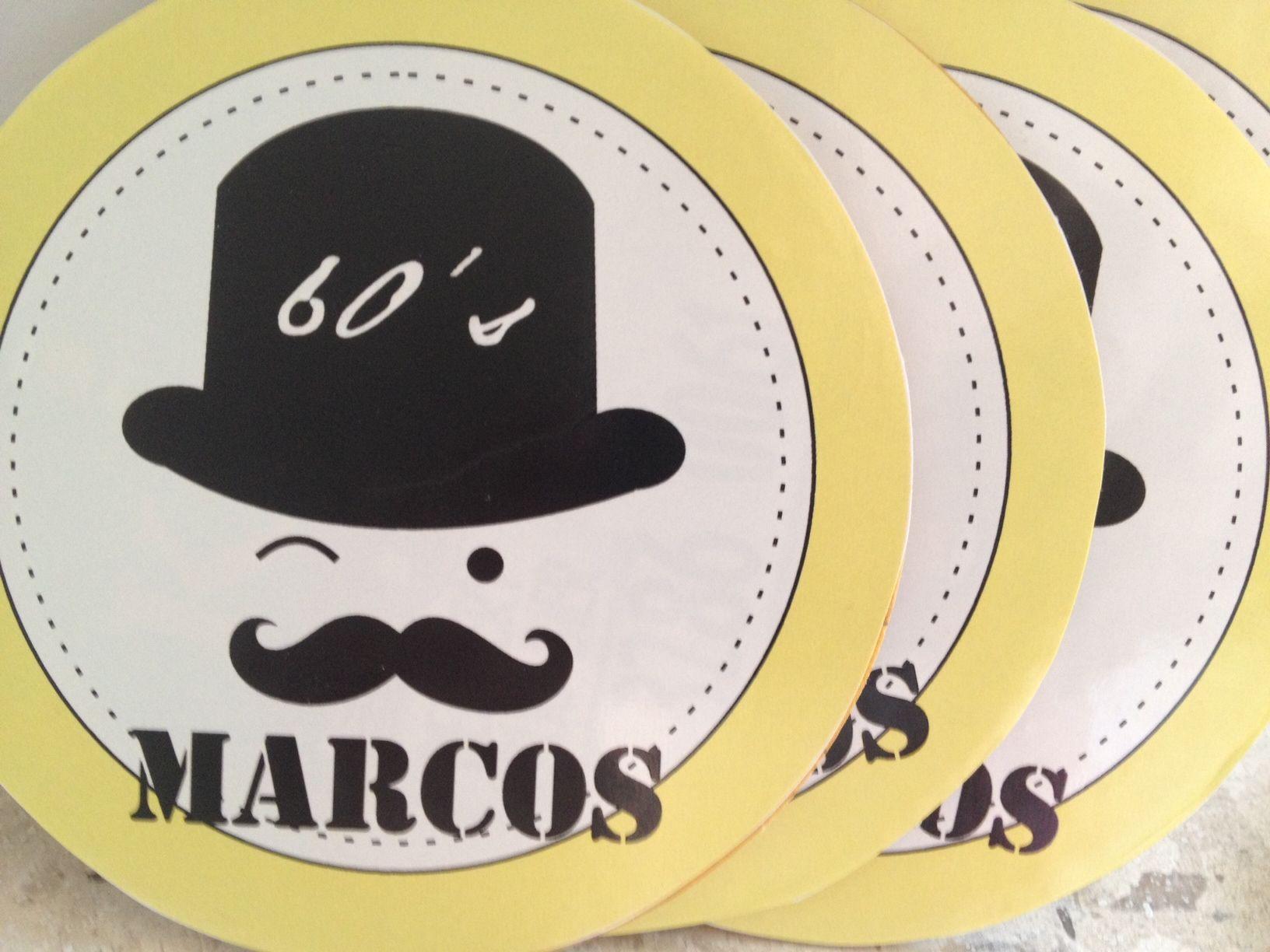 Porta Copos Moustache Efe'Studio Design®