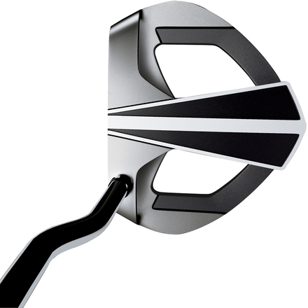 White Ice DART Putters: This cutting edge putter features the latest in advanced alignment technology. Along with perimeter weighting and a double-bend shaft, the innovative mallet uses D.A.R.T. alignment technology to ensure better accuracy and promote consistent strikes for increased distance control.