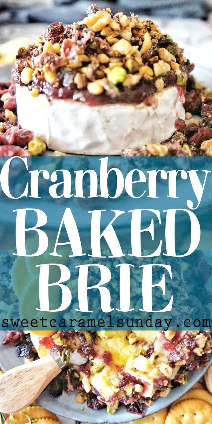 Cranberry Brie Cranberry Brie is an easy appetizer recipe that helps celebrate the festive season.