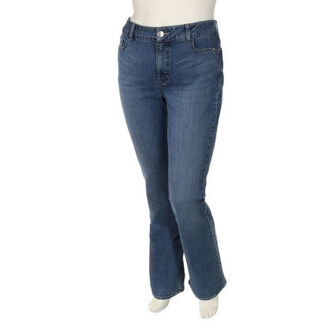 a90a3588 Riders By Lee Womens Plus Slender Stretch Bootcut Jeans: Shopko ...