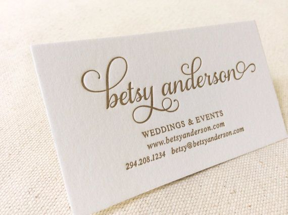 Letterpress printed business cards reheart Images
