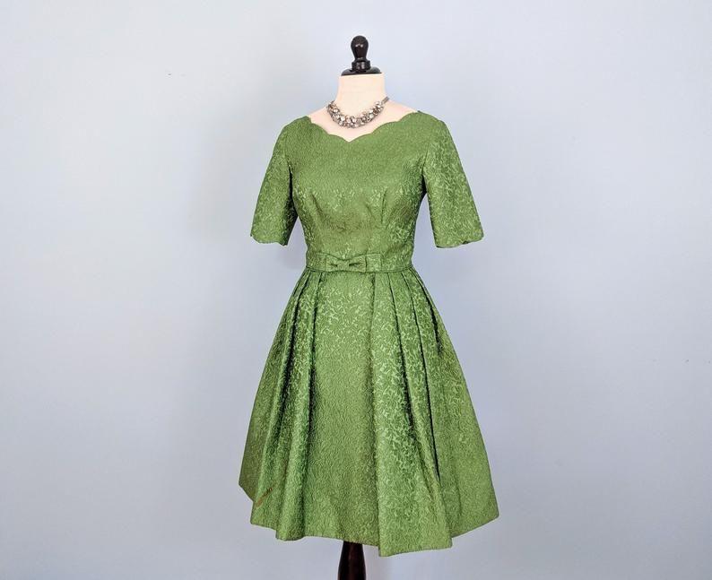 Elegant Brocade Dresses