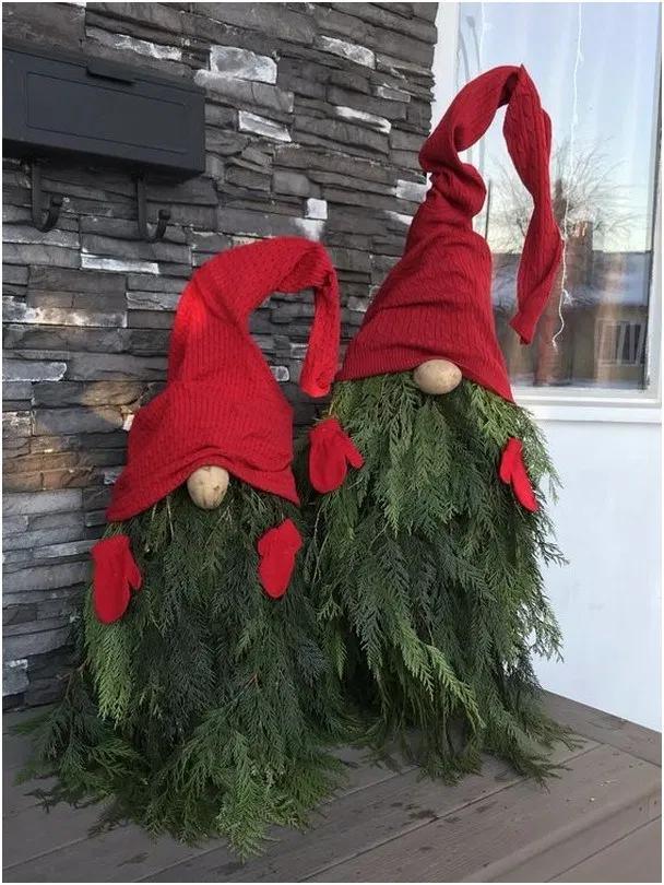 21 Unique Christmas Front Porch Decoration Ideas