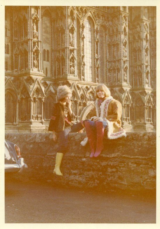 Linda Keith and Brian Jones