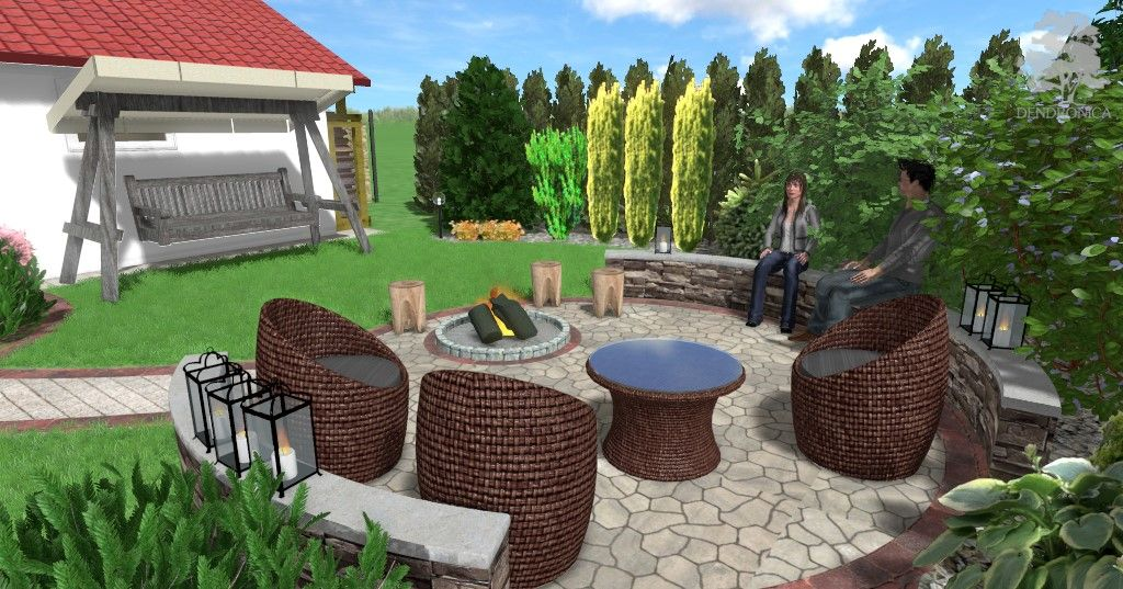 Tarnobrzeg Rekompozycja Małego Ogrodu Projekt Obejmował