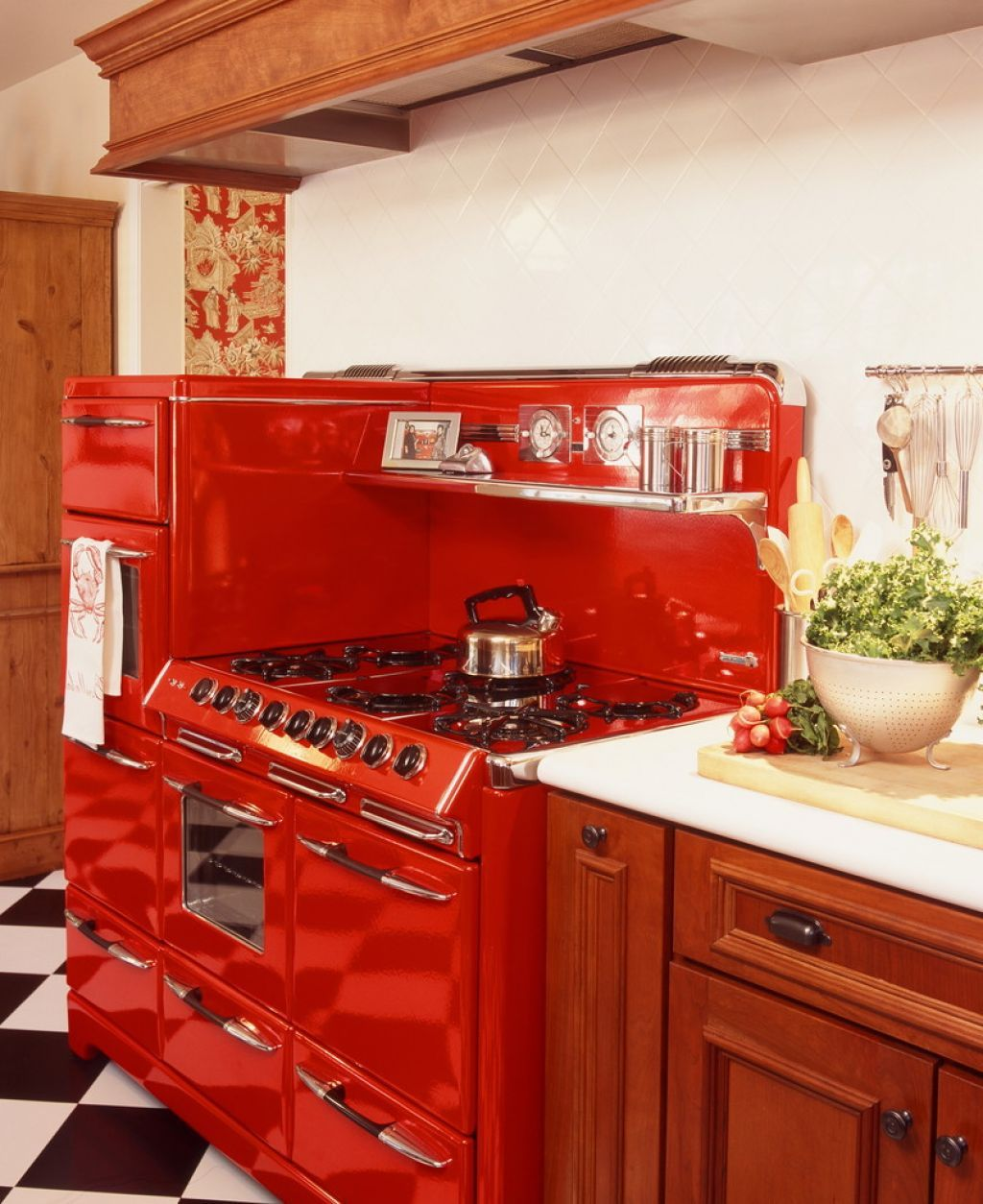 Kitchen Retro Style Kitchen Decor Put Your 1950 S
