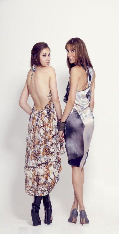 Inkblot Dresses