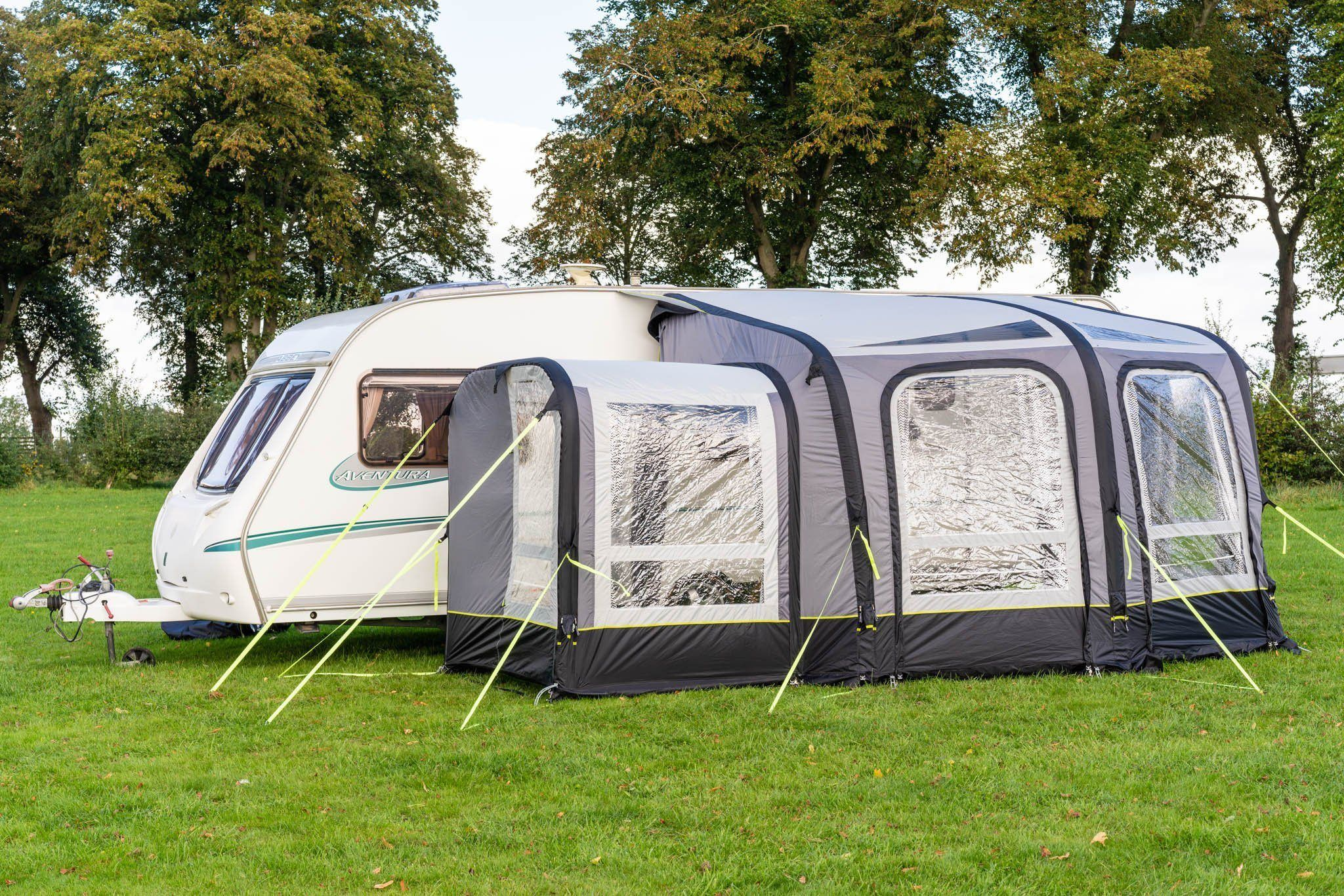 View 300 Caravan Inflatable Porch Awning With Porch ...