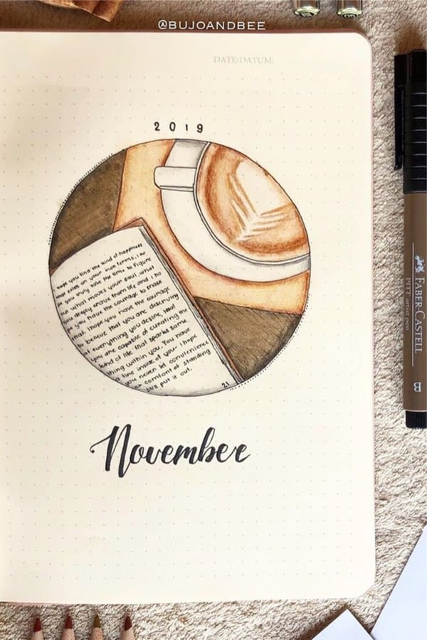30+ Creative November Monthly Cover Ideas For 2020 – Crazy Laura
