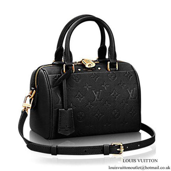 d05006a3a74a Louis Vuitton M42397 Speedy Bandouliere 20 Tote Bag Monogram Empreinte  Leather