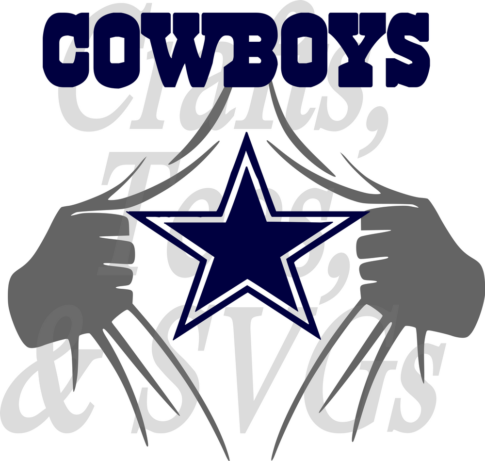 Football SVG Files The Diva Bling Store Dallas cowboys