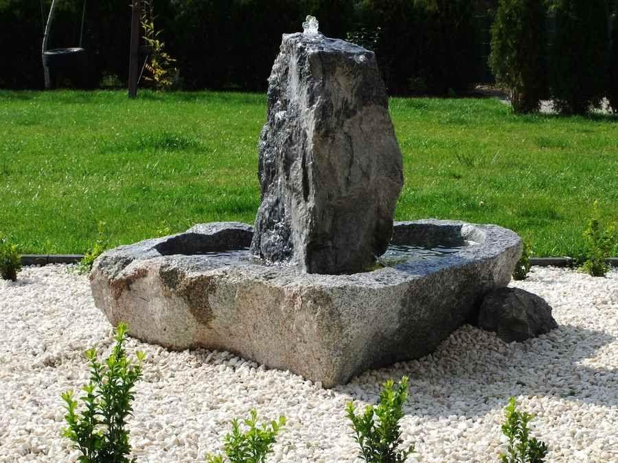 Brunnenanlage Komplett Outdoor Decor Fountain Outdoor