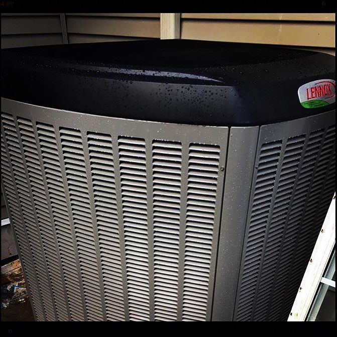 Another Lennox Signature Collection Xp25 Heat Pump Installation