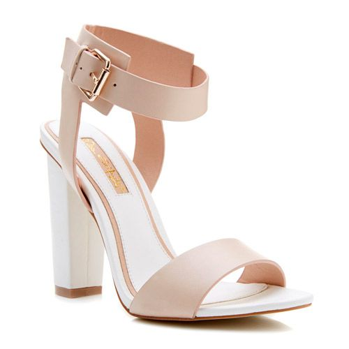 Bridal Shoes Selfridges: Block Heels? Check! Open Toe? Check! These Miss Selfridge