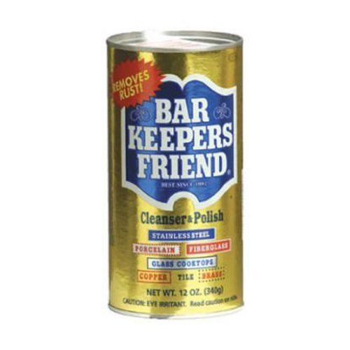 Bar Keepers Friend Cleanser and Polish, 12-Ounces (Pack of ...