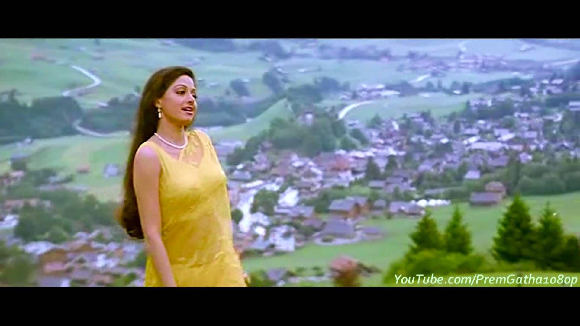 Tere Mere Hoton Pe (Mitwa) - Chandni (1080p HD Song) | For