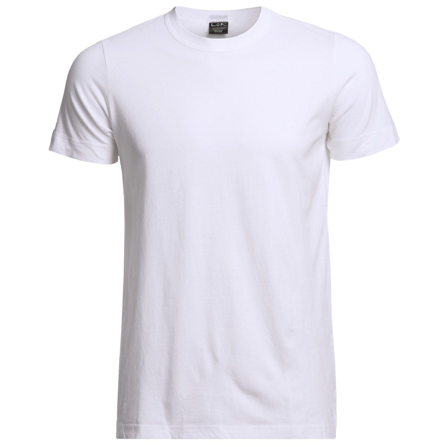 This is a simple white cotton t-shirt. Hmmm... I wonder what it's ...