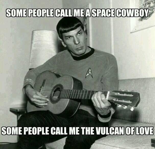 Haha..Spock