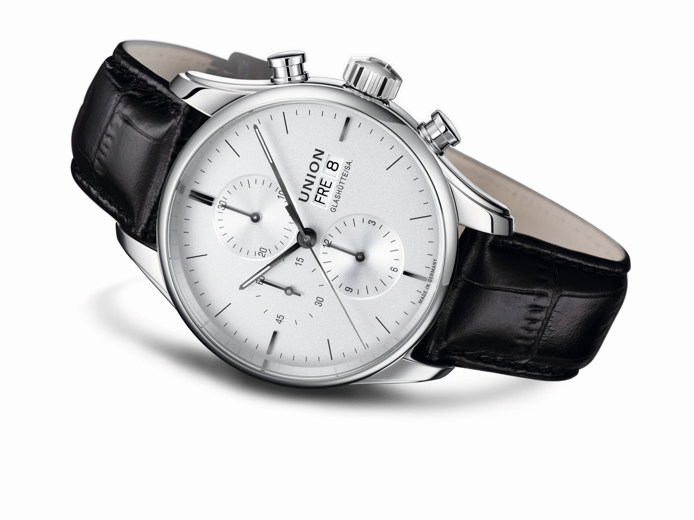 Union Glashütte Viro Chronograph | Watches Armbanduhren in