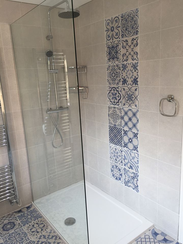 Skyros Delft Blue Wall and Floor Tile in 2019 | House ...