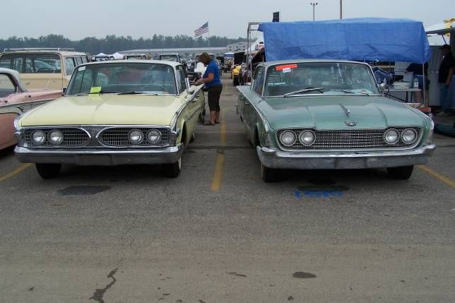 1960 Edsel Ford Side By Side Comparison Edsel Ford