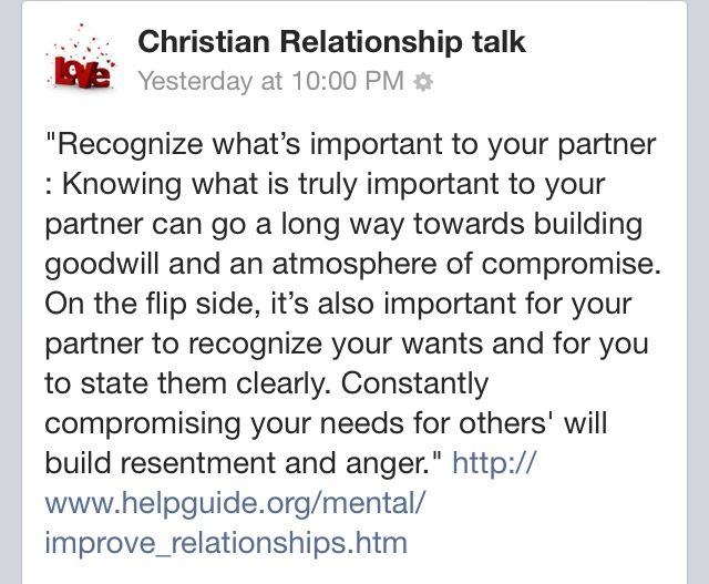 Dating to relationship talk