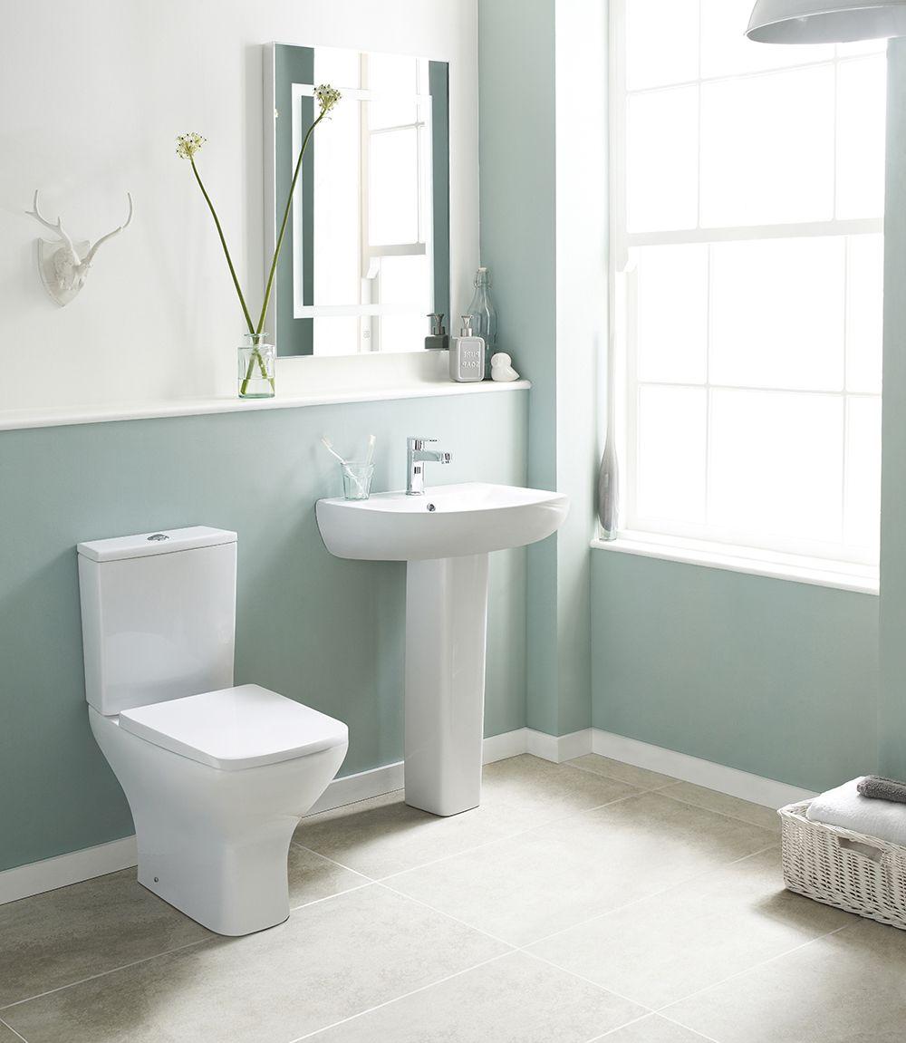 550mm Modern Design Moisture Proof Bathroom Vanity Unit Concealed Cistern