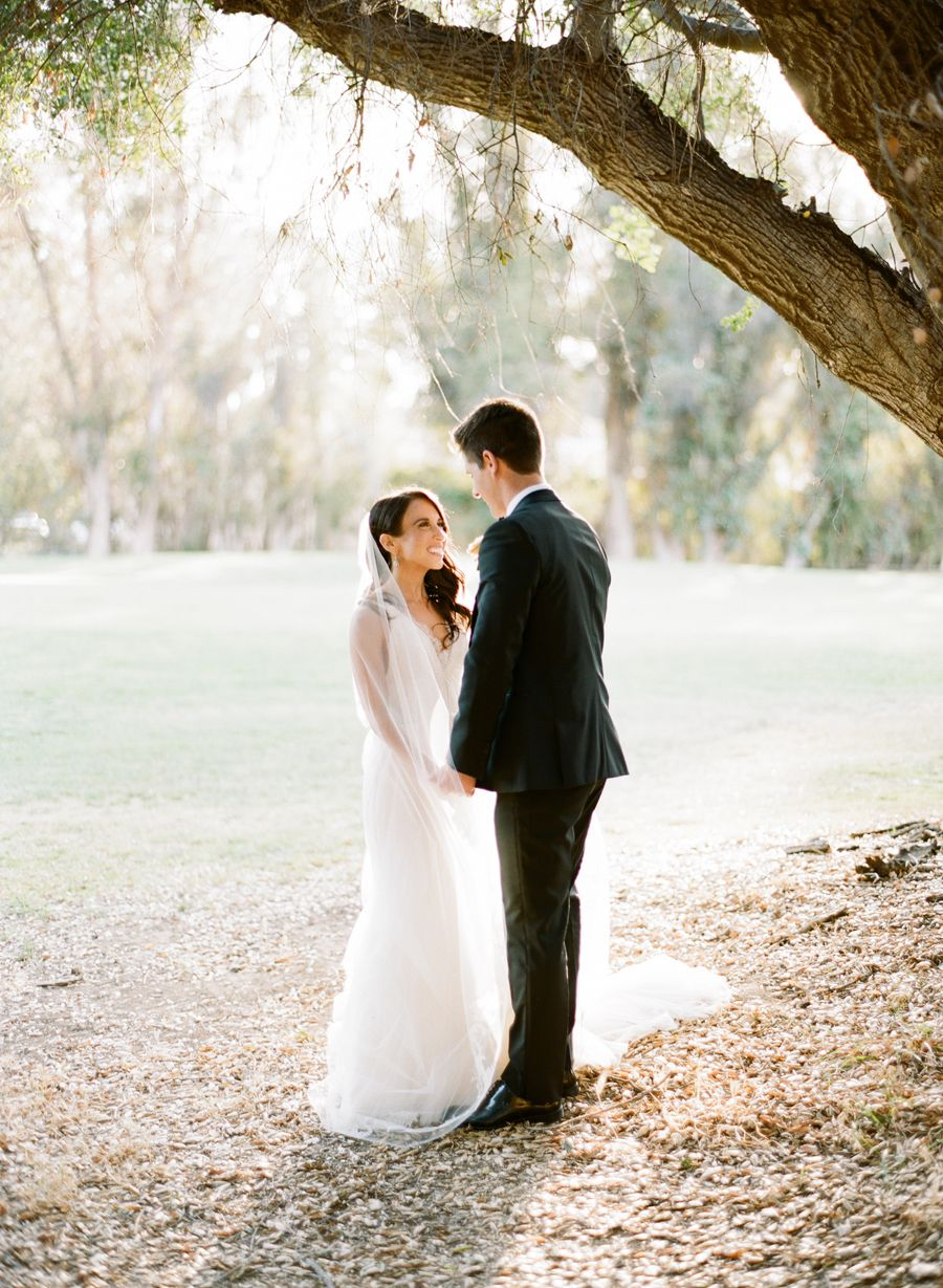 A breathtaking wedding without a speck of bright color in sight