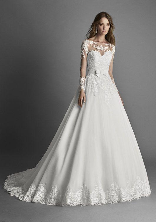 2890ad86cf Vestido de novia modelo Rita de alma novia colección 2017 2018 ...