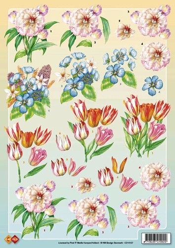 Nieuw bij Knutselparade: 2366 Card Deco knipvel bloemen CD 10127 https://knutselparade.nl/nl/bloemen/5137-2366-card-deco-knipvel-bloemen-cd-10127.html   Knipvellen, Bloemen  -  Card Deco