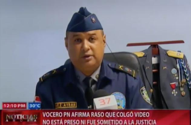 Vocero PN Afirma Raso Que Colgó Video En Las Redes No Está Preso Ni Fue Sometido A La Justicia #Video
