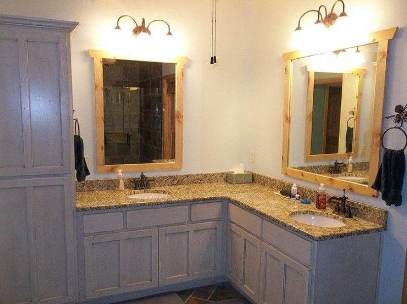 15 Bathroom Vanity Ideas 2020 You Should Never Miss Avantela Home Corner Bathroom Vanity L Shaped Bathroom Double Vanity Bathroom