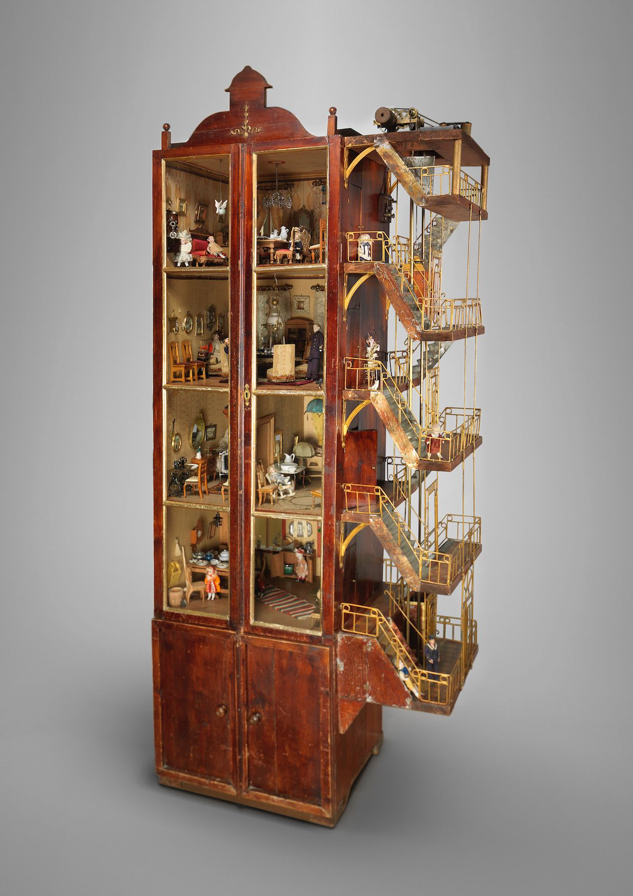 Möbel Carlsson John Carlsson Dollhouse And Furnishings 1912 Wardrobe