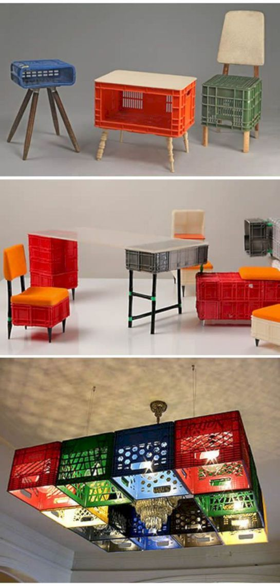 16 Exceptional Recycled Furniture Ideas to Wow Your Home #recyclingfurniture