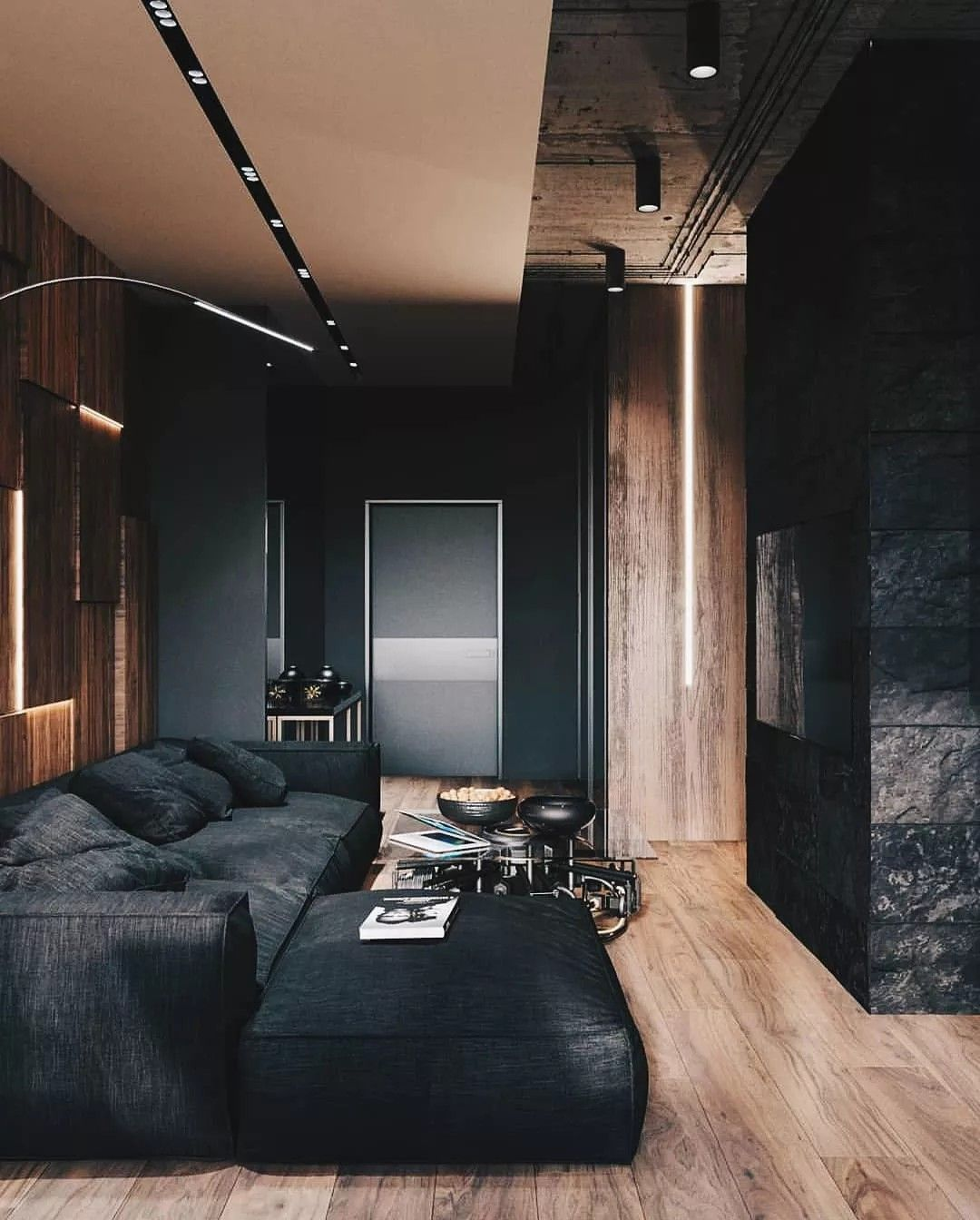 Moody Interiors Interior Inspiration Minimalism Interior