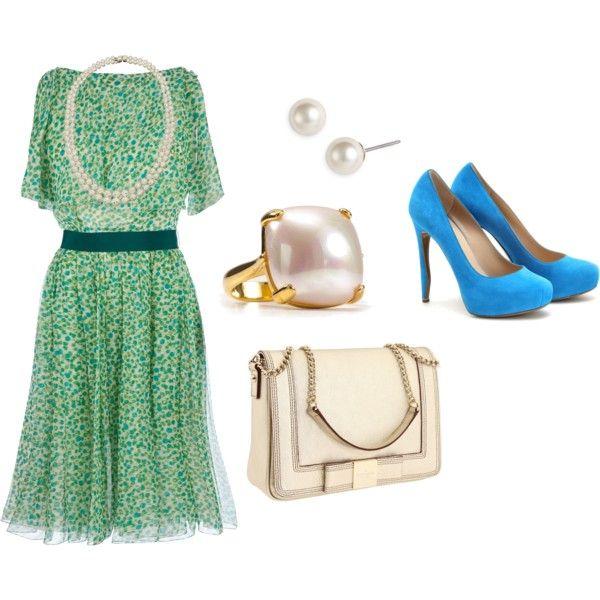 I wanna be a princess, created by #amilinn21 on #polyvore. #fashion #style Giambattista Valli Nicholas Kirkwood