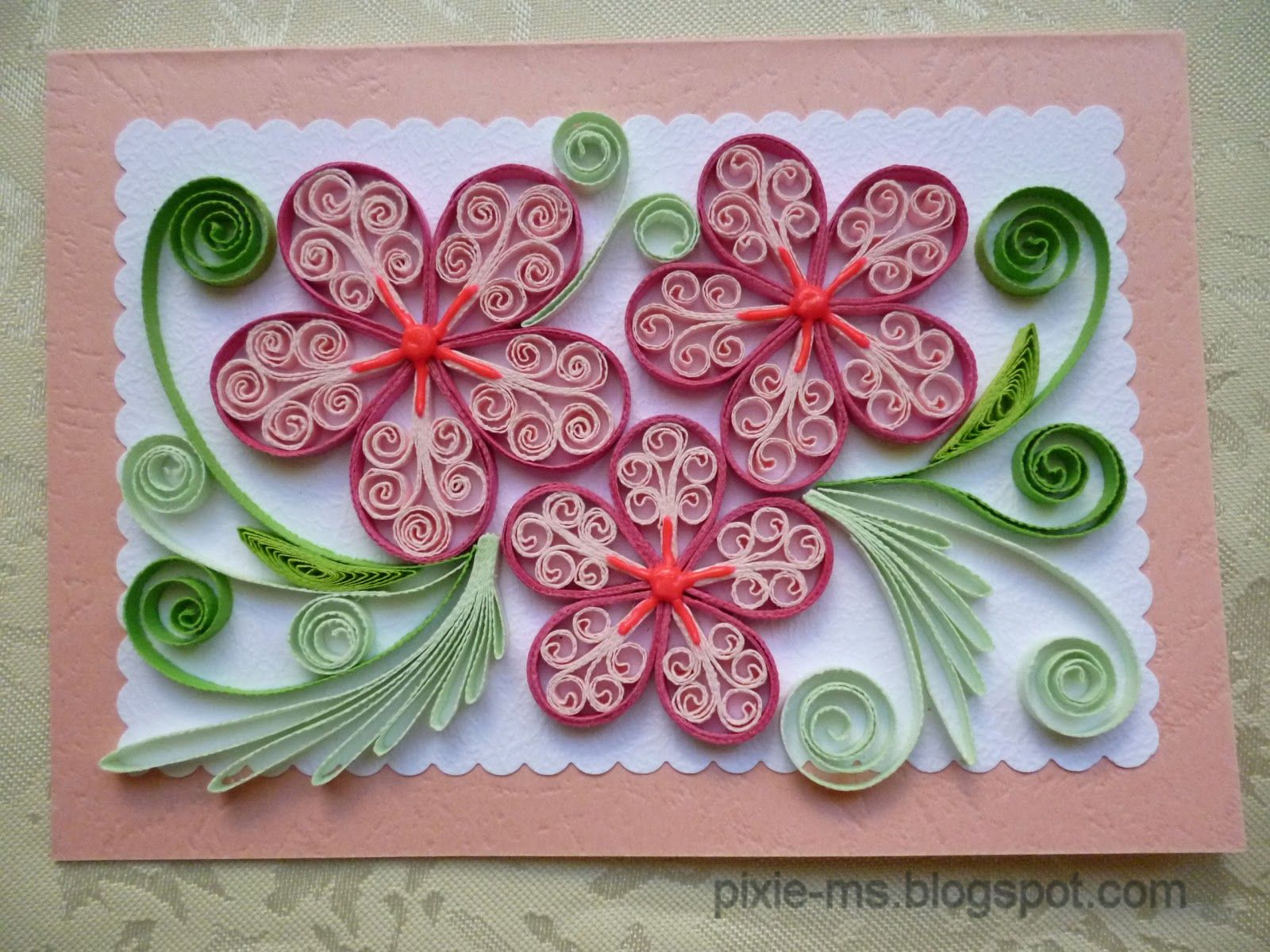quilling flowers - Bing Images