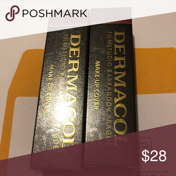 Dermacol makeup cover 207 and 208 Authentic NWT Makeup
