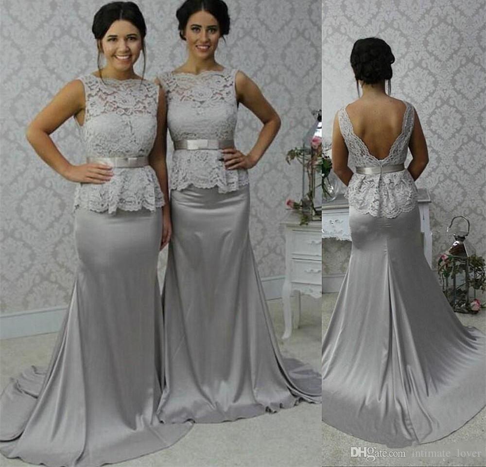 e14f06cf5a seoProductName | Wedding Inspiration | Bridesmaid dresses, Silver ...