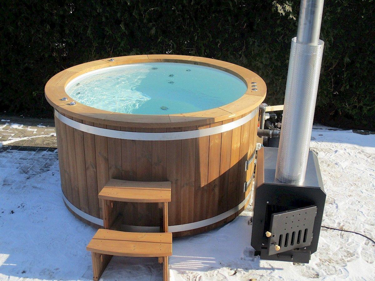 Badetonne Badezuber Badefass Hottub Hot Tub Www Isbjorn Hottubs De Badezuber Badetonne Und Badefass