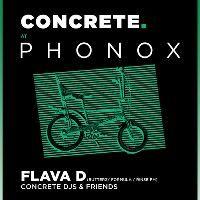 Concrete Tuesdays at Phonox, Brixton w  Flava D   London